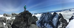 Rock Climbing Photo: Summit pano