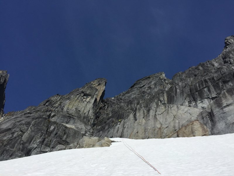 Rapping onto triangle snowfield