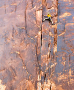 Rock Climbing Photo: A good view of the whole route