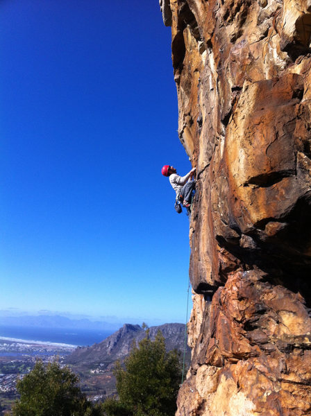Rock Climbing Photo: One day Mercury will go down...