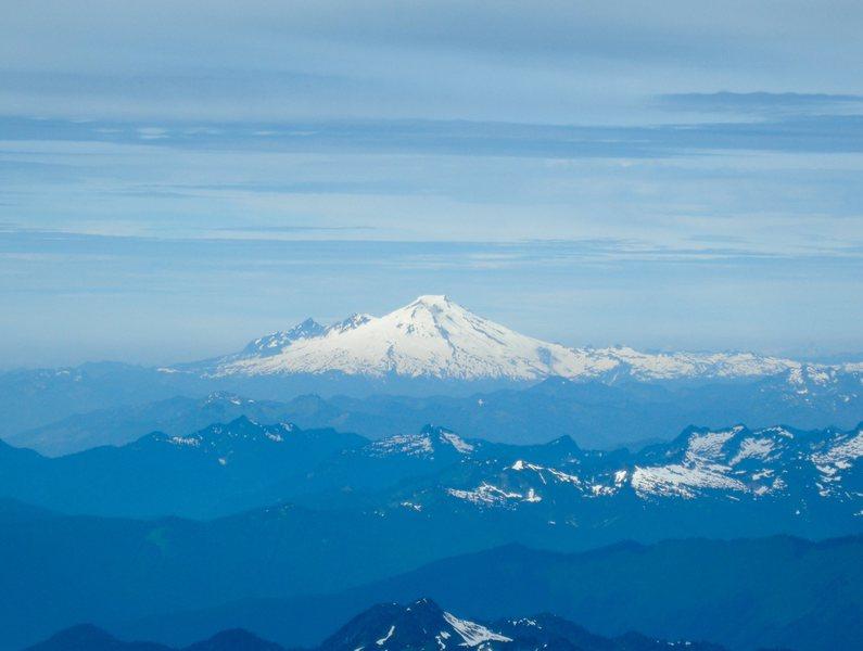 Mt. Baker, photo taken from Glacier Peak.