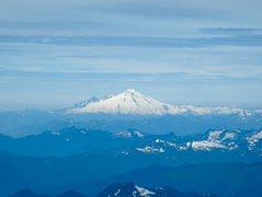 Rock Climbing Photo: Mt. Baker, photo taken from Glacier Peak.