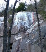 Rock Climbing Photo: Unicorn and the area  beneath it