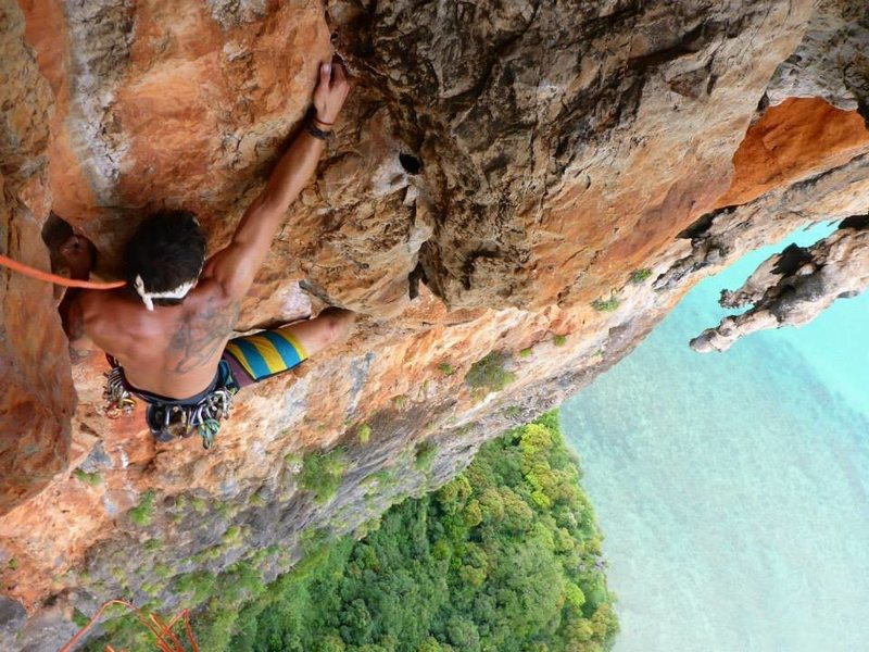 Rock Climbing Photo: i think this route was called candlestick flame or...