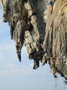 Rock Climbing Photo: deep water soloing fun times