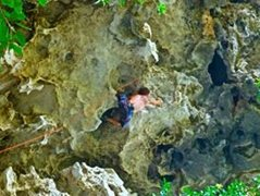 Rock Climbing Photo: bat-hang potential in Laos