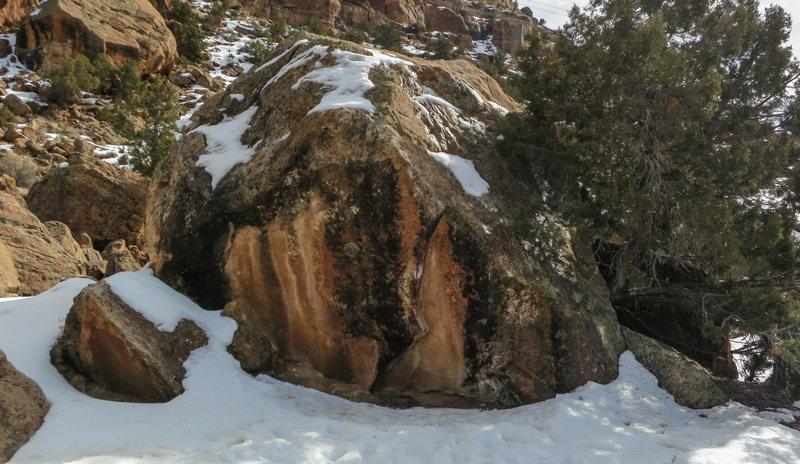 Rock Climbing Photo: Sheep's north face.