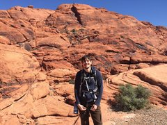 Rock Climbing Photo: Calico Hills in Red Rock, Nevada