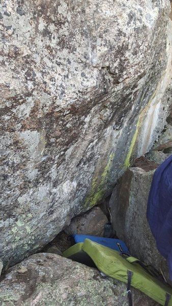 Rock Climbing Photo: Beta picture.