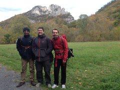 Rock Climbing Photo: Me and my climbing buddies