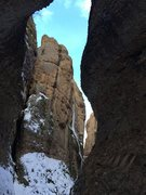 Rock Climbing Photo: View from inside Box Canyon taken by chericem on 2...