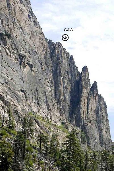 Rock Climbing Photo: The Great Awakening Wall