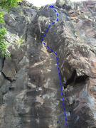 Rock Climbing Photo: Submarine Driver