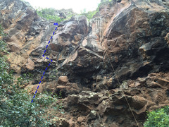 Rock Climbing Photo: A Sicker Red Slick