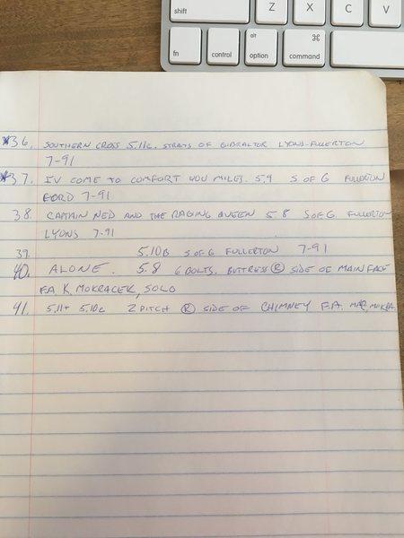 Williamson FA notes