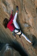 Rock Climbing Photo: Lynn Hill on When Legends Die
