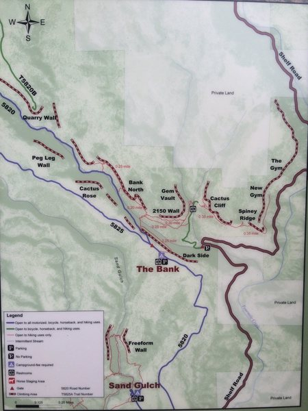 Shelf Road map overview.