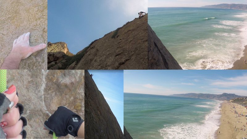 Rock Climbing Photo: Valentine's Day 2016 @ Point Dume. It was a great ...