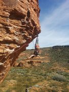 Rock Climbing Photo: bat hang beta
