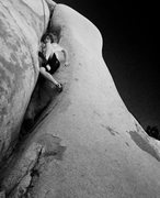 Rock Climbing Photo: Floating up one of the areas many overlooked obscu...