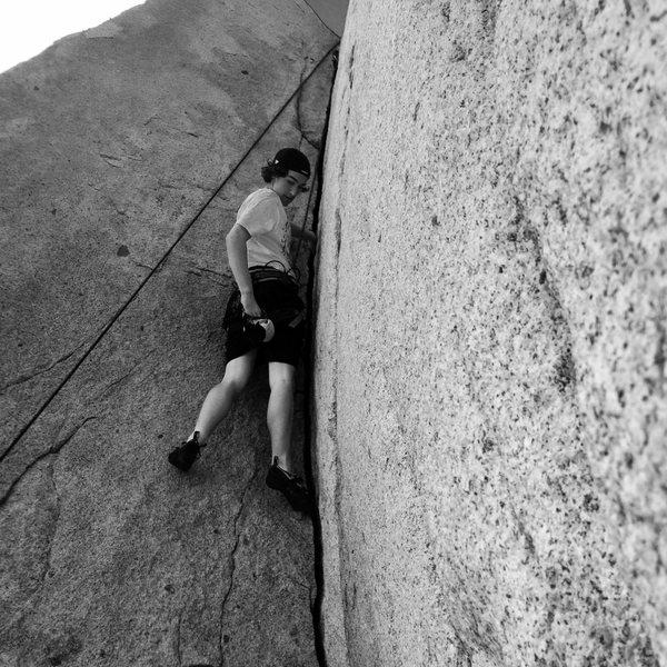 Rock Climbing Photo: Splitter!!!!