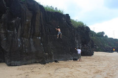 Rock Climbing Photo: Waimea