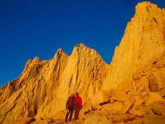 Rock Climbing Photo: Old man on the mountain!!!