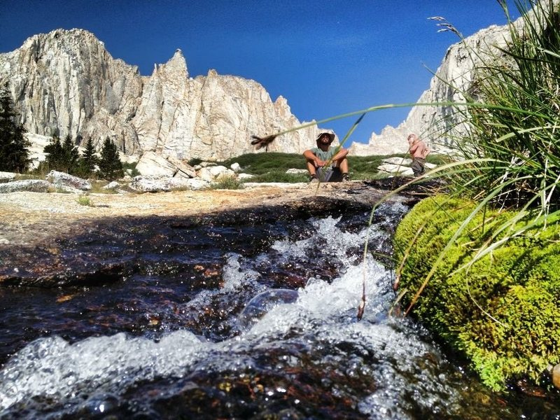 Rock Climbing Photo: Alpine bubbles!!!