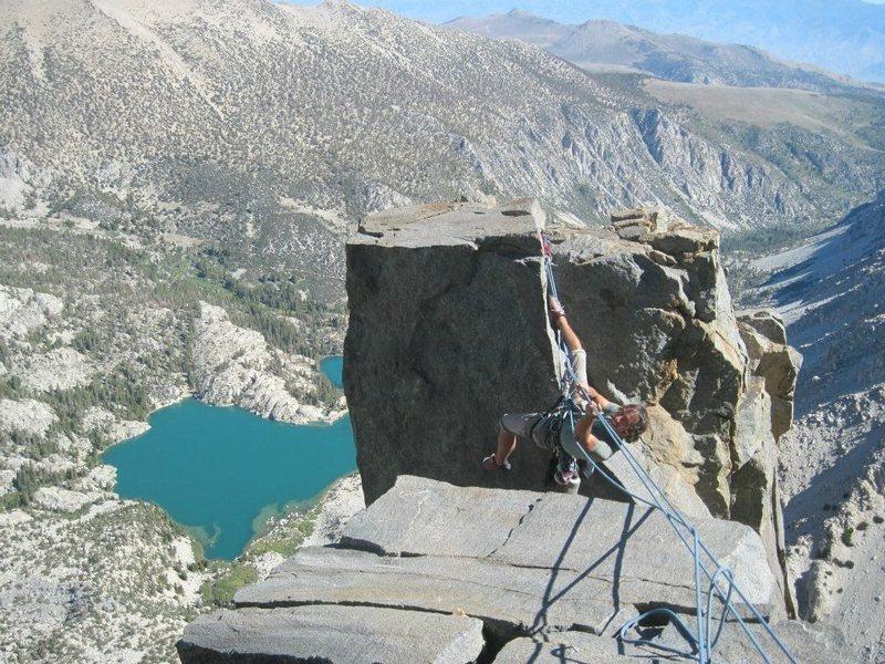 Alpine tyrolean!!!