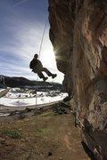 Rock Climbing Photo: Society Turn.