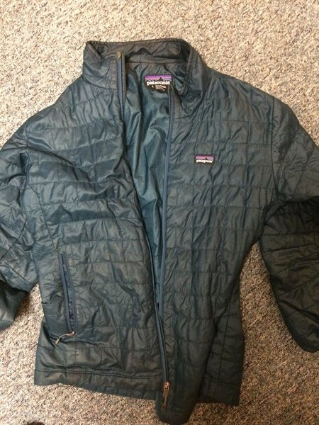 Men's Large Patagonia puffy