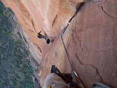 Rock Climbing Photo: Moonlight Buttress, Zion NP