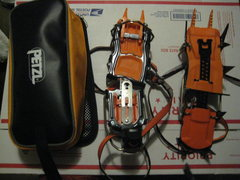Rock Climbing Photo: Petzl Lynx Crampons