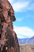 Rock Climbing Photo: on her third day of climbing, tiff topping out on ...