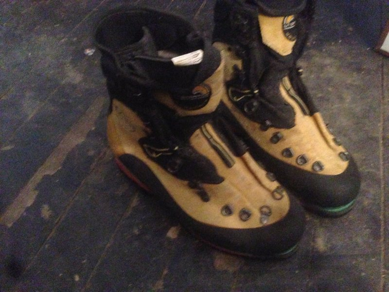 Rock Climbing Photo: Size 42 boots