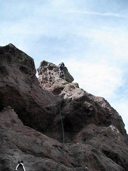 Rock Climbing Photo: King Kong FA