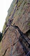 Rock Climbing Photo: Hand Traverse.