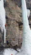 Rock Climbing Photo: Zach Turner aged 11.