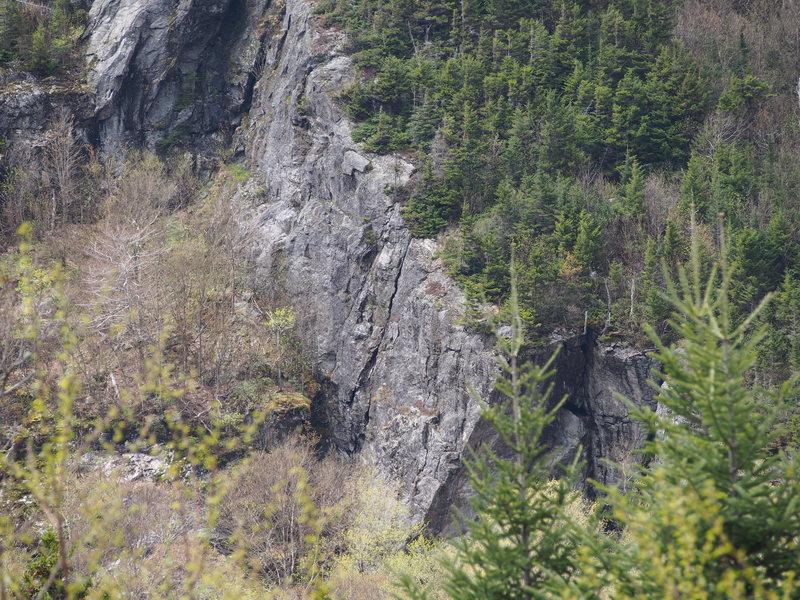 "Rock Climbing Photo: ""Lost Boys Area"" Telephoto - Close-up of..."