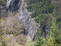 "Rock Climbing Photo: ""Lost Boys Area"" Telephoto - Close-up of..."