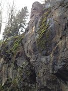 Rock Climbing Photo: Really fun route up the clean prow