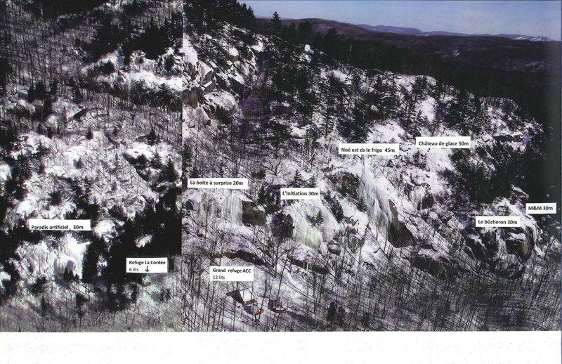 Many areas at Montagne d'Argent<br> Photo by Gaétan Castilloux