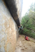 Rock Climbing Photo: this and that's perfect warm up