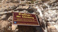 Rock Climbing Photo: Photo: Oullie Theppakkhamsone