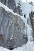 Rock Climbing Photo: Shagadelic climbs the obvious pick placements up t...