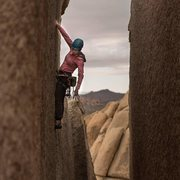 Rock Climbing Photo: Heart of Darkness
