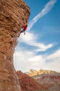 Rock Climbing Photo: At the first clip after the crux.. One of the most...