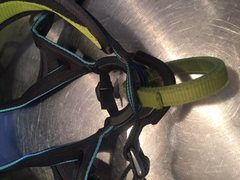 Rock Climbing Photo: Belay loop and tie-in points