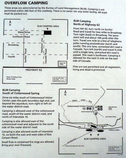 BLM Overflow Camping - JTNP