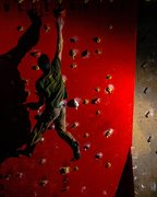 Rock Climbing Photo: Red